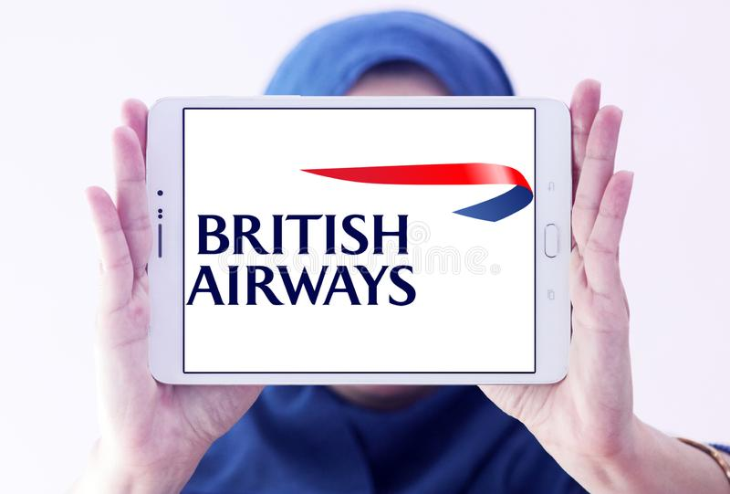 Logo de British airways photos stock