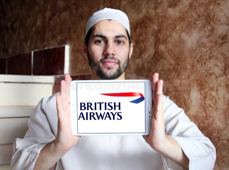 Logo de British airways images stock