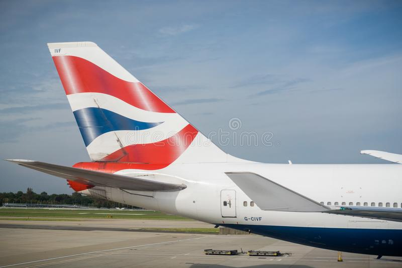 Logo de British airways image stock