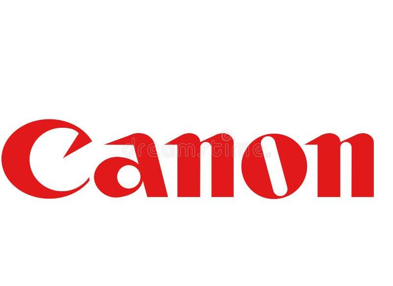 Logo de Canon illustration stock