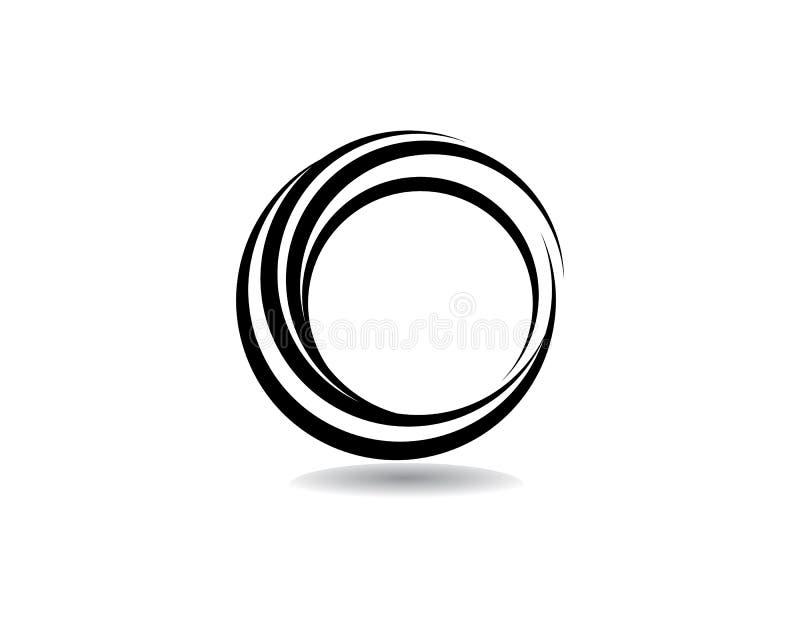 logo de cercle et vecteur de symboles illustration de vecteur