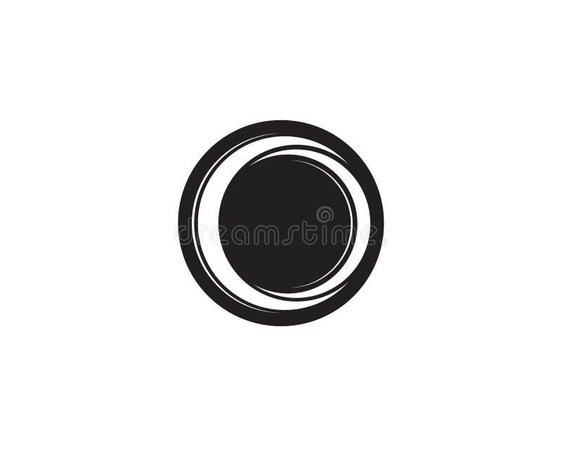 logo de cercle et vecteurs de symboles illustration stock