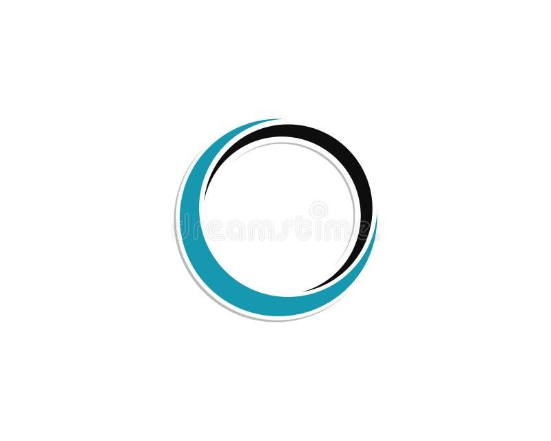 logo de cercle et vecteurs de symboles illustration libre de droits