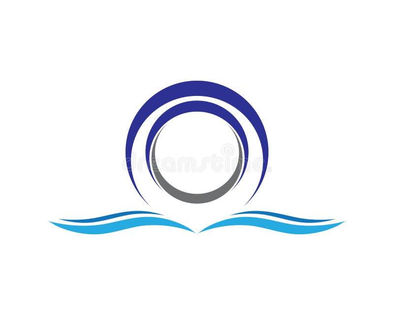 Logo de cercle illustration stock