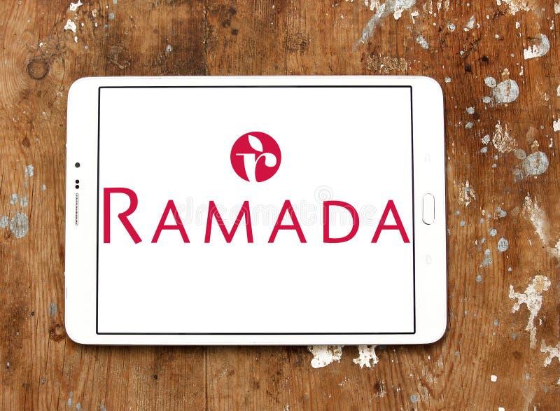 Logo de chaîne d'hôtel de Ramada images libres de droits