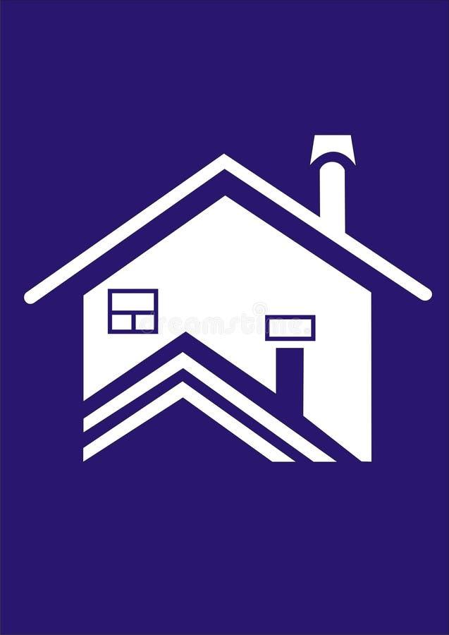 Logo de Chambre illustration stock