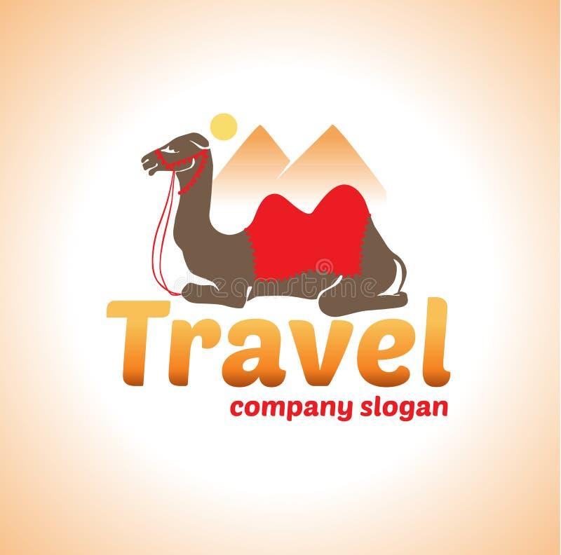 Logo de chameau illustration libre de droits