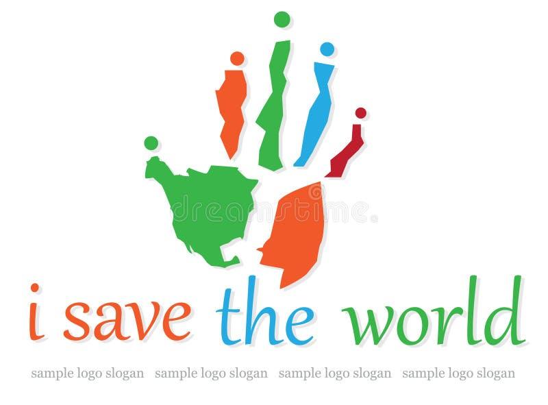 Logo de charité illustration libre de droits