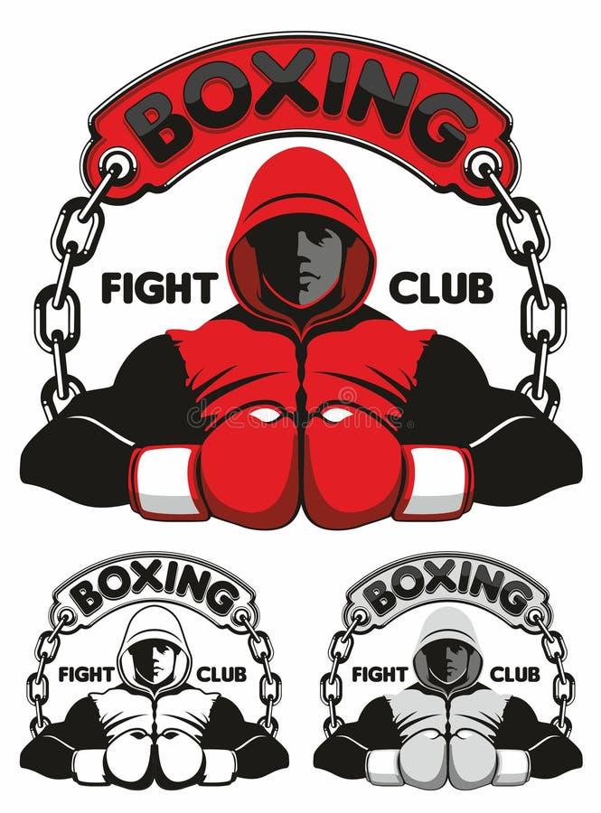 Logo de club de boxe illustration libre de droits
