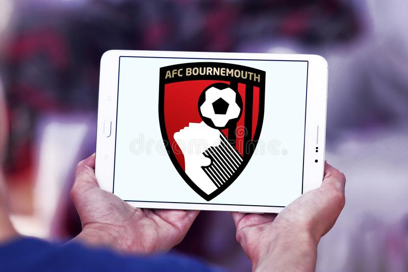 Logo de club du football de CAF Bournemouth photos stock
