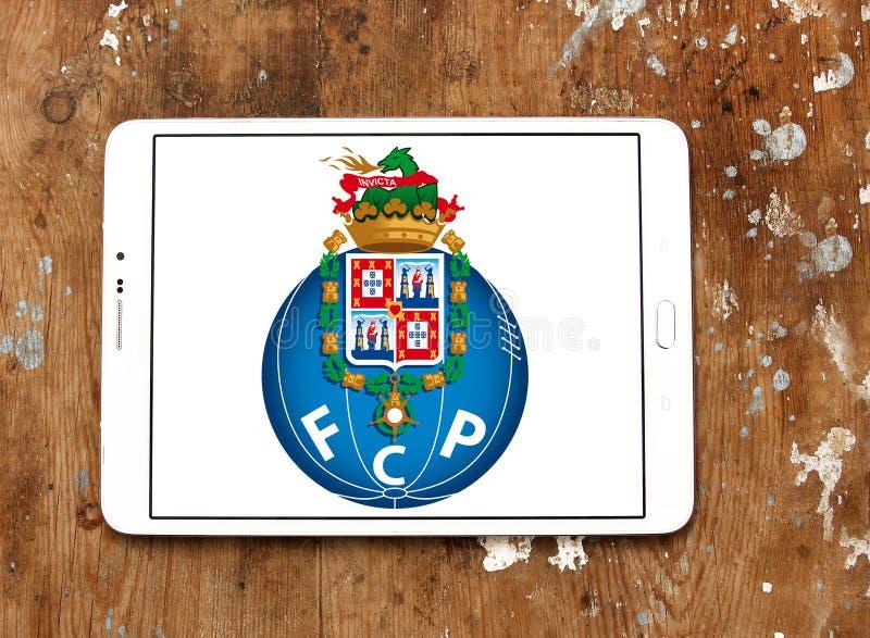 Logo de club du football de Fc Porto photo libre de droits