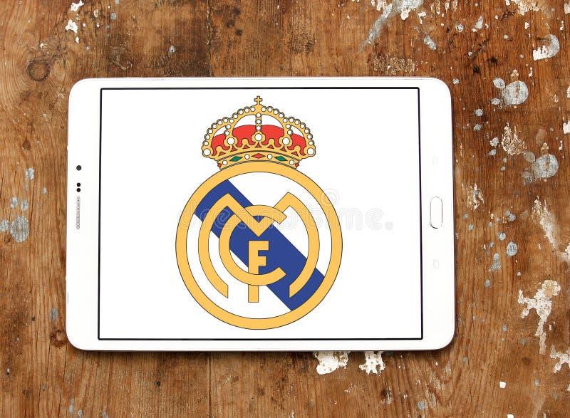 Logo de club du football de Real Madrid image libre de droits