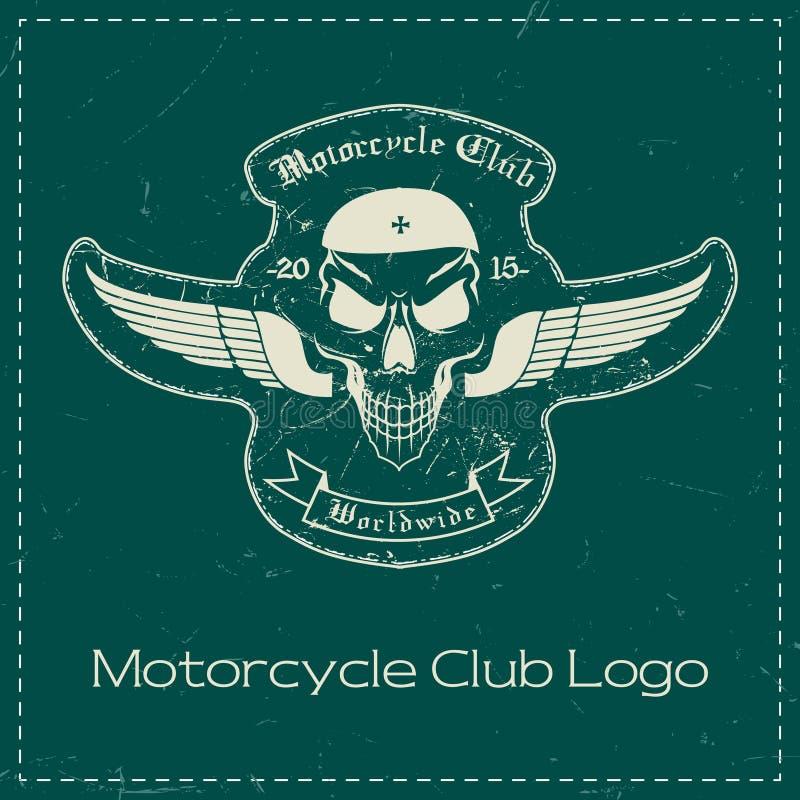Logo de club de moto illustration stock
