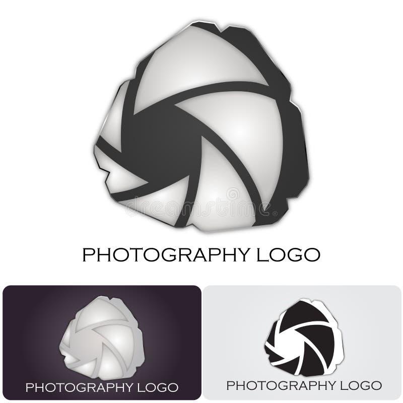 Logo de compagnie de photographie illustration stock