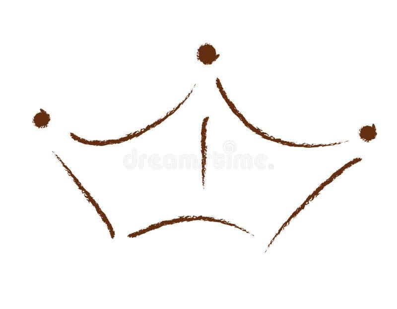 Logo de compagnie de tête illustration stock