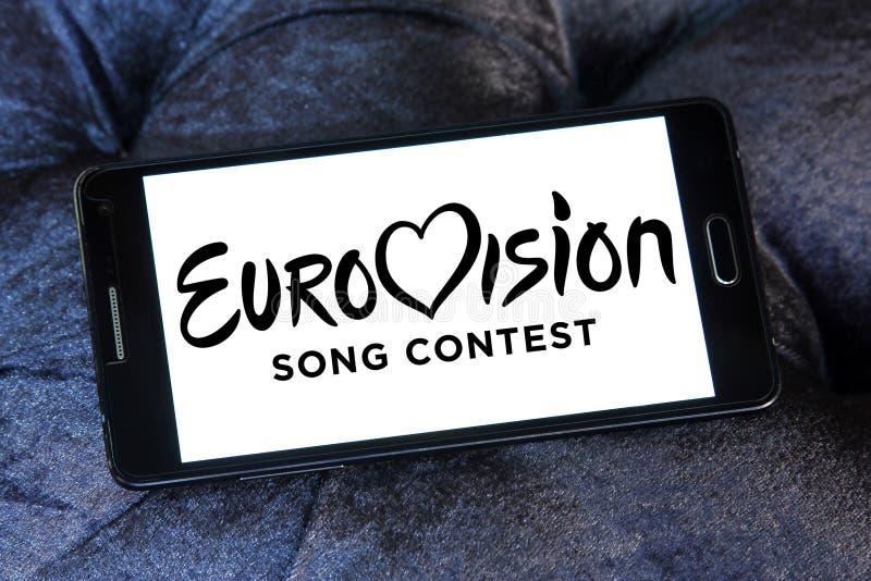 Logo de concours de chanson d'Eurovision photographie stock