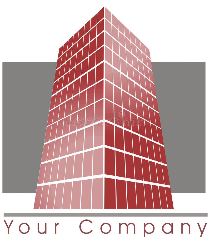Logo de construction illustration libre de droits
