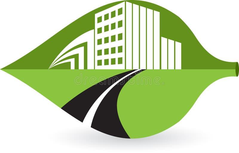 Logo de construction de lame illustration libre de droits
