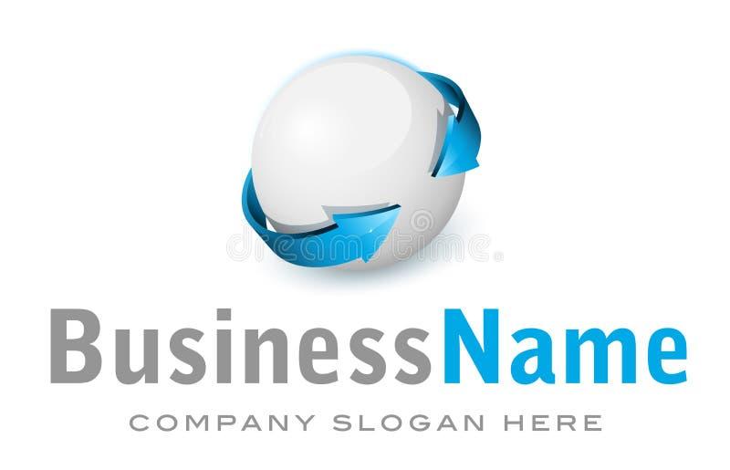 Logo de corporation de vecteur illustration de vecteur