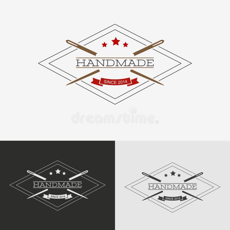 Logo de couture illustration libre de droits