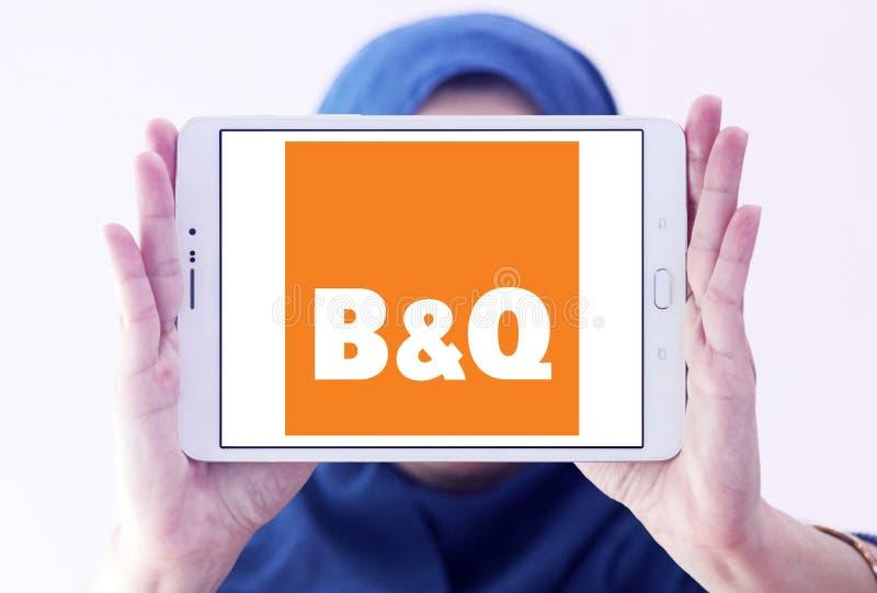 Logo de détaillant de B&Q image libre de droits