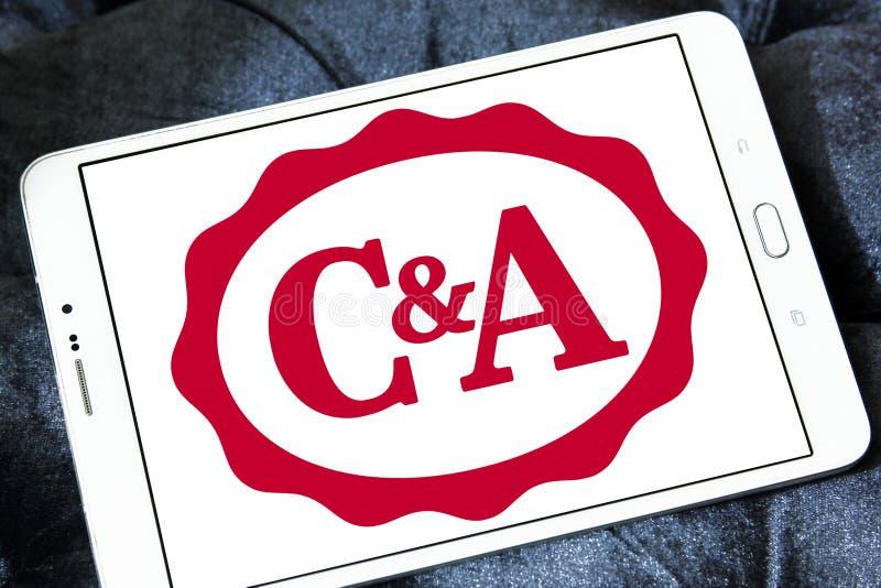 Logo de détaillant de C&A photographie stock libre de droits