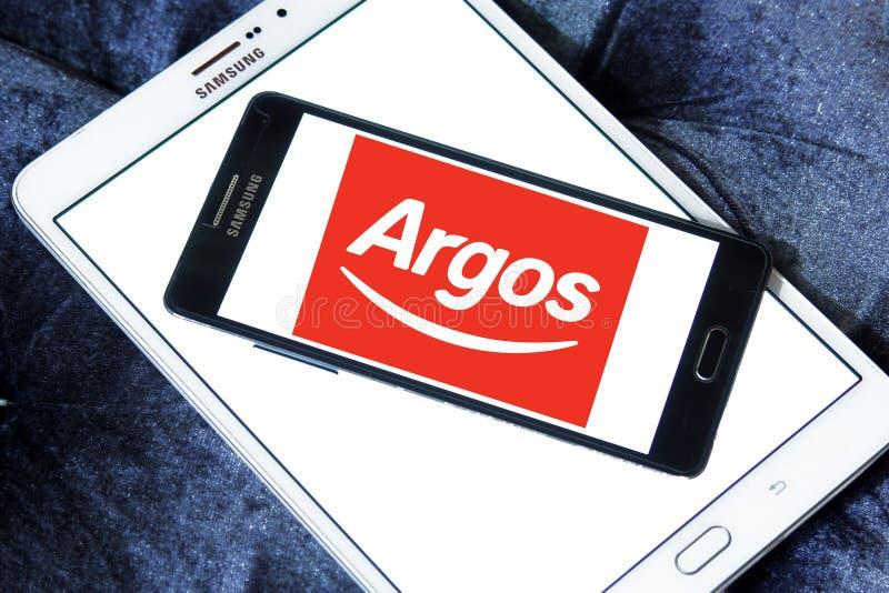 Logo de détaillant d'Argos photos stock