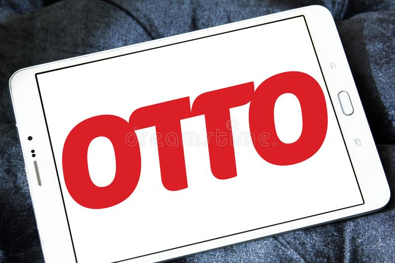 Logo de détaillant d'OTTO photos stock