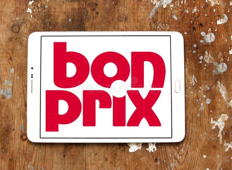 Logo de détaillant de mode de Bonprix photos stock
