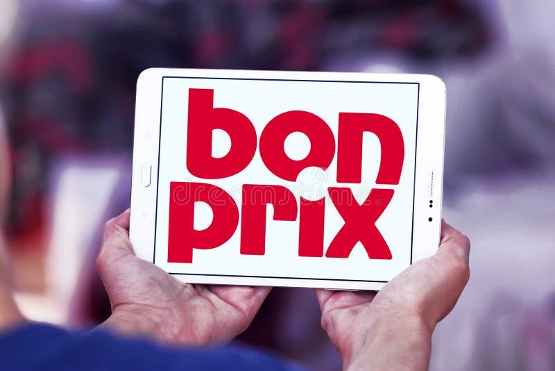 Logo de détaillant de mode de Bonprix photographie stock