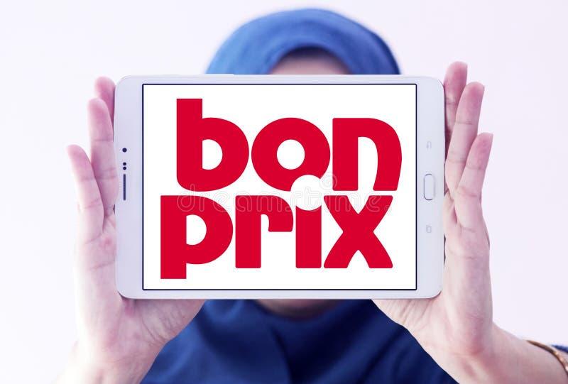 Logo de détaillant de mode de Bonprix photo stock