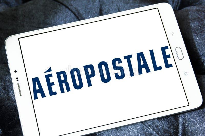 Logo de détaillant de mode d'Aeropostale photos libres de droits