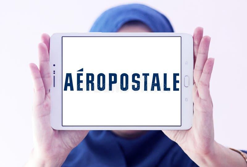 Logo de détaillant de mode d'Aeropostale photo stock