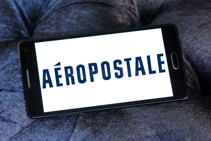 Logo de détaillant de mode d'Aeropostale images stock