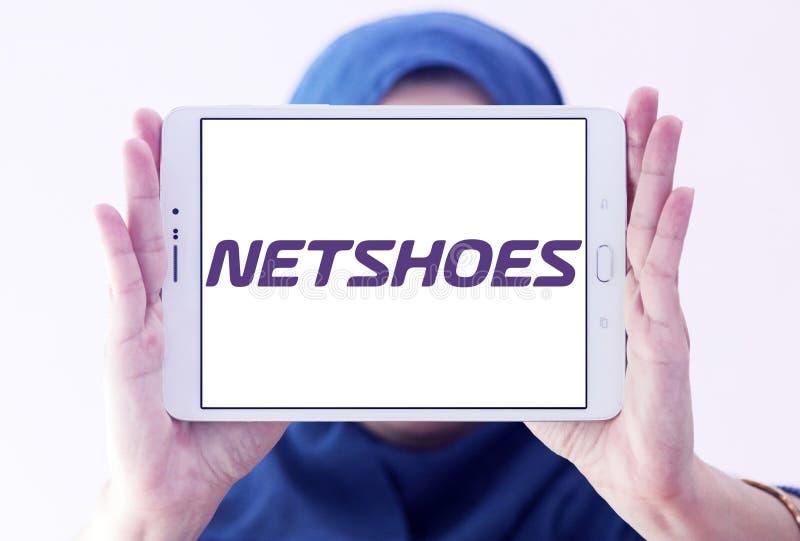 Logo de détaillant de Netshoes images stock