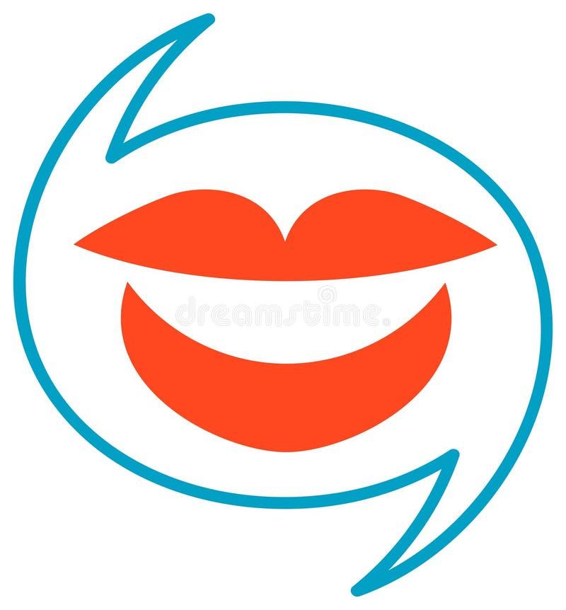 Logo de dialogue illustration de vecteur