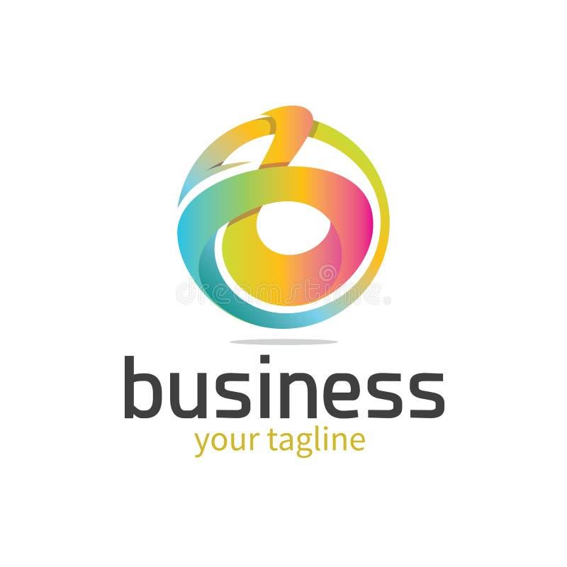 Logo de ` du ` b de lettre illustration de vecteur