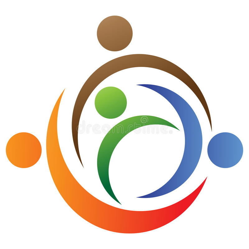 Logo de famille illustration libre de droits