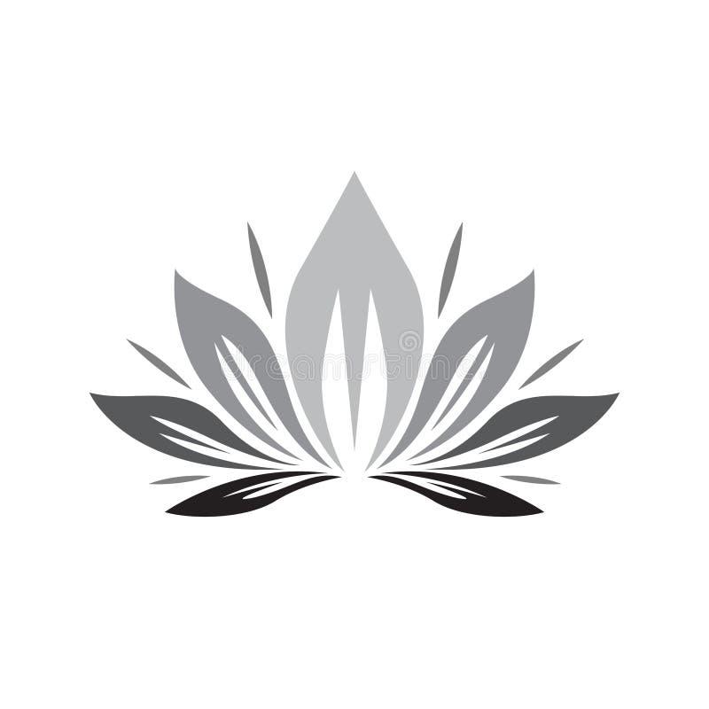 Logo de feuille, naturel, sain, et de baisse de l'eau - vecteur illustration libre de droits