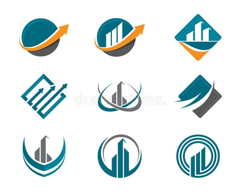 Logo de finances illustration libre de droits