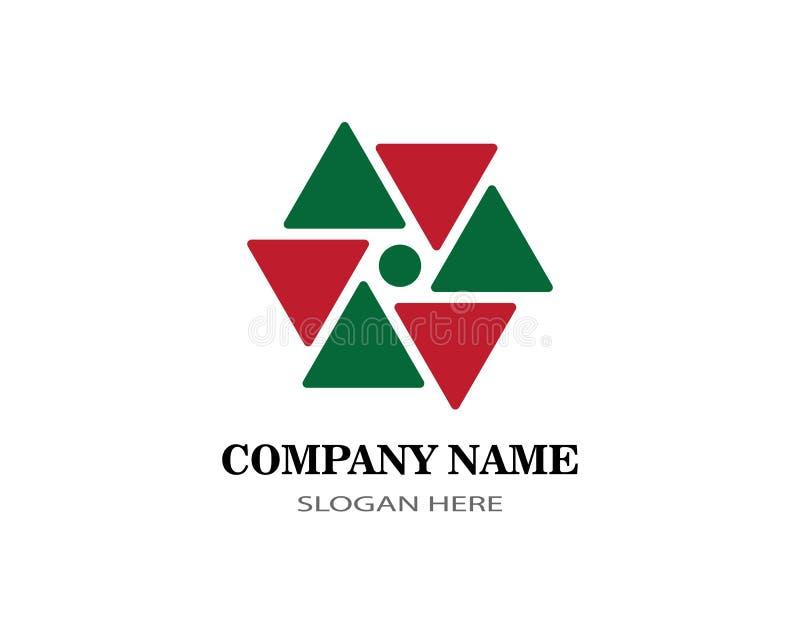 Logo de finances d'affaires illustration de vecteur
