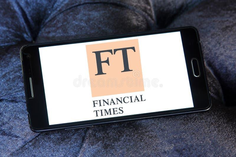 Logo de Financial Times image stock