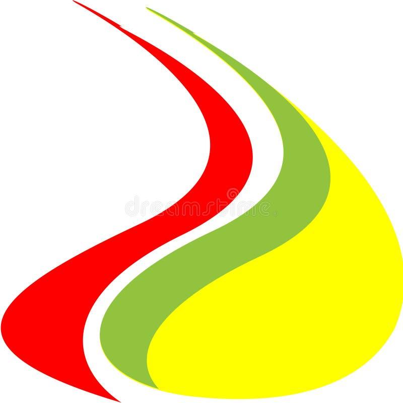 Logo de flamme photo libre de droits