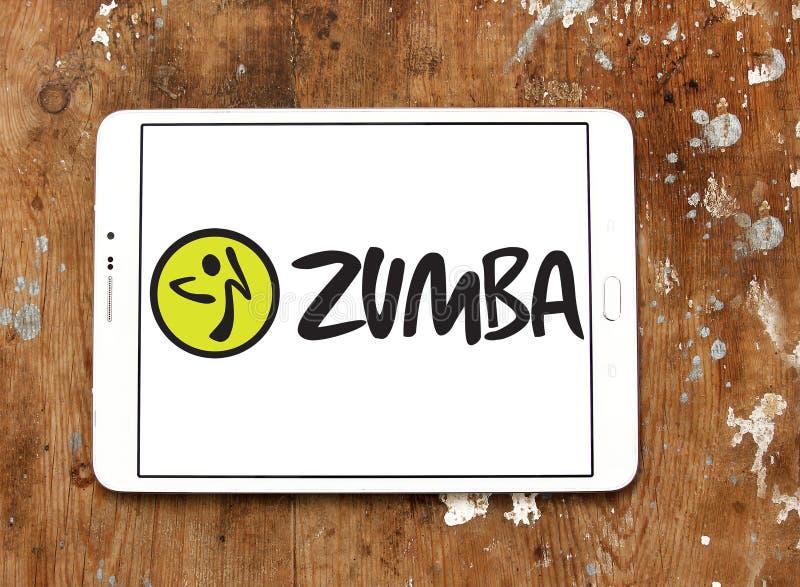 Logo de forme physique de Zumba photo libre de droits