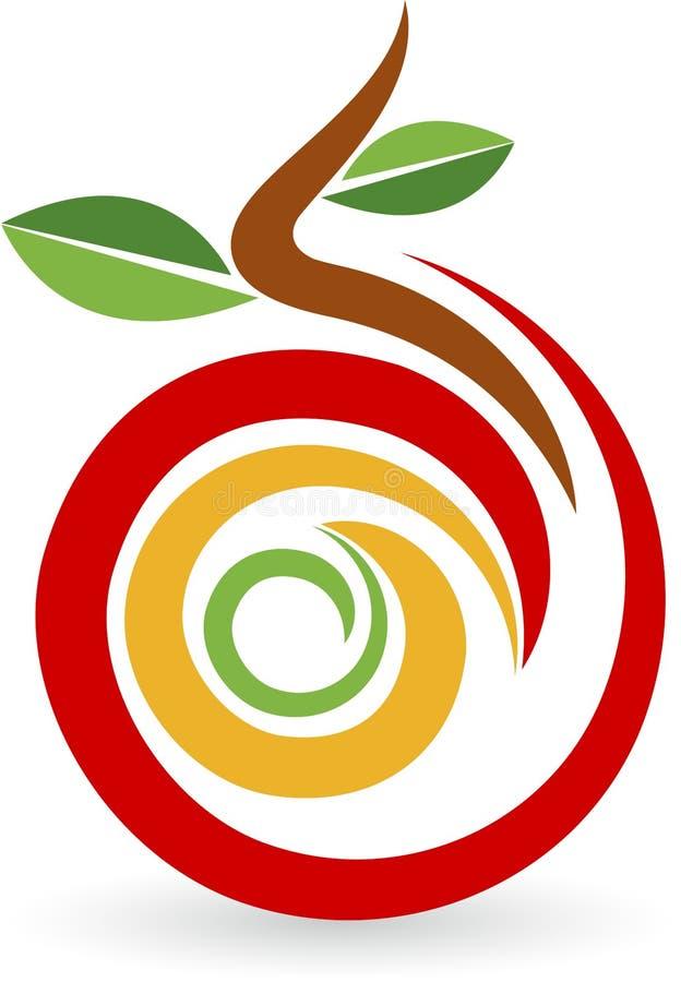 Logo de fruit illustration stock