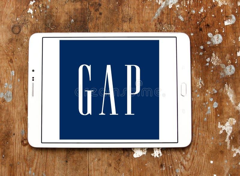 Logo de Gap images libres de droits