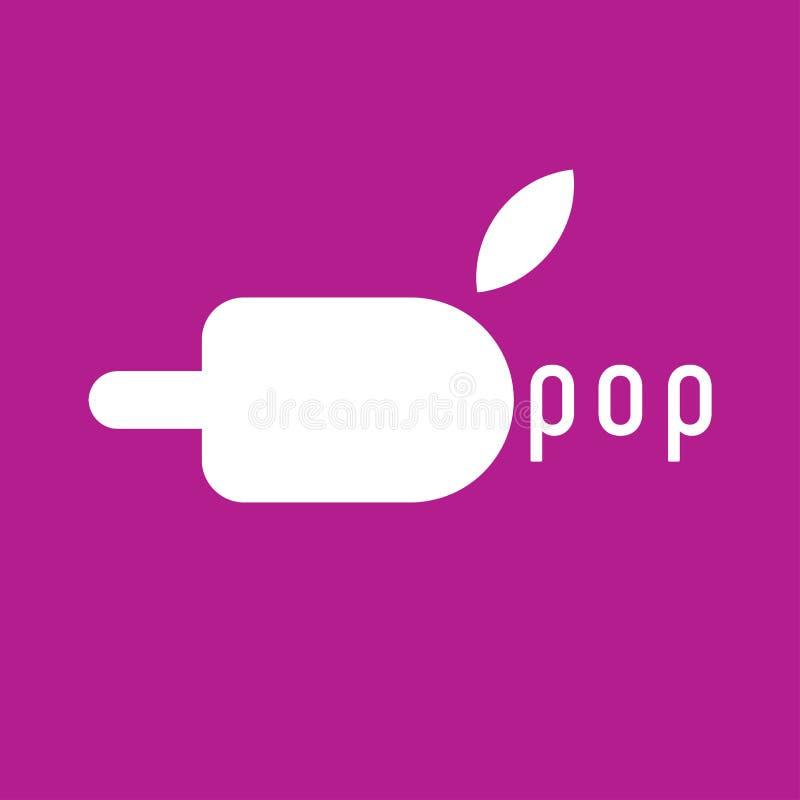 Logo de glace à l'eau de glace Vecteur d'icône de glace à l'eau de glace Logo de glace, icône, signe, élément de conception illustration de vecteur