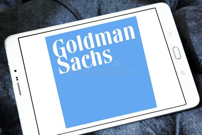 Logo de groupe de Goldman Sachs photos libres de droits