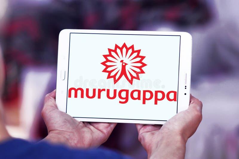 Logo de groupe de Murugappa images libres de droits