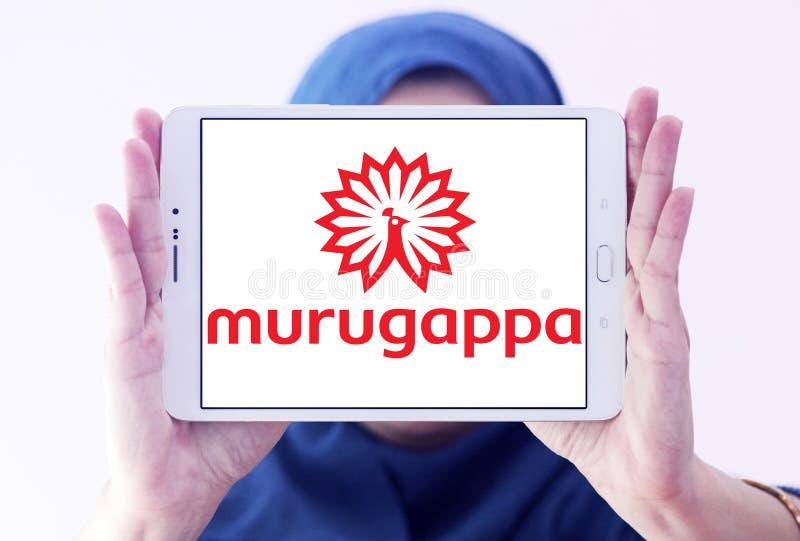 Logo de groupe de Murugappa photographie stock